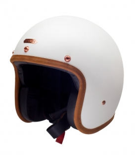 Casque Jet Hedon Hedonist Stable White