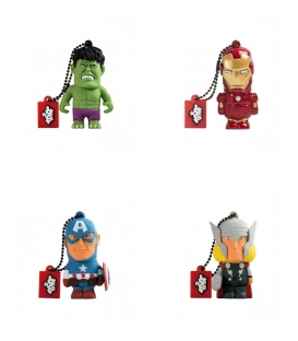 Pack Clé USB 8Go 3D Marvel