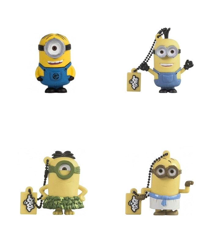 cl s usb minions pack 4 x 8go. Black Bedroom Furniture Sets. Home Design Ideas
