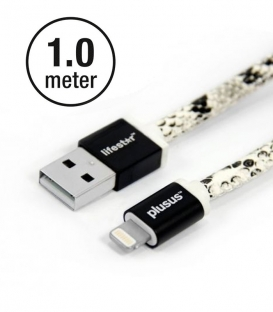 LIFESTAR Apple MFI Cable Snake Bite Lightning 1m