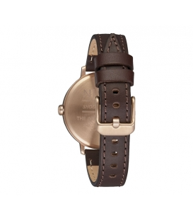 Montre Nixon Arrow Leather Rose Gold Silver
