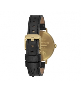 Nixon Arrow Leather Gold Black