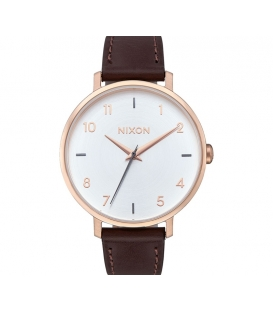 Nixon Arrow Leather Rose Gold Silver