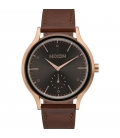 Nixon Sala Leather Rose Gold Burgundy