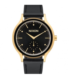 Montre Nixon Sala Leather Gold Black