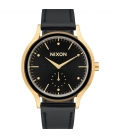 Nixon Sala Leather Gold Black