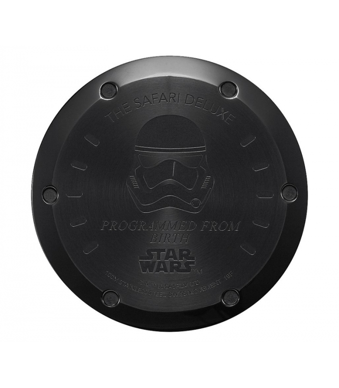 Stormtrooper Montre Safari Wars Star Leather Deluxe Nixon TPXZikOu