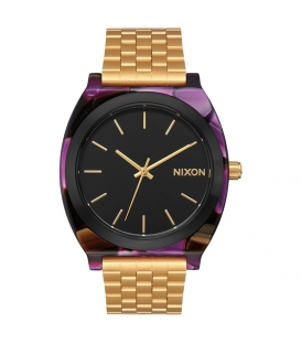 Montre Nixon Time Teller Acetate Multi Gold