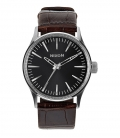 Montre Nixon Sentry 38 Leather Brown Gator