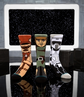 Coffret 3 paires de chaussettes Stance Star Wars Return of the Jedi