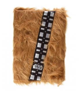 Carnet A5 Star Wars Chewbacca avec fourrure