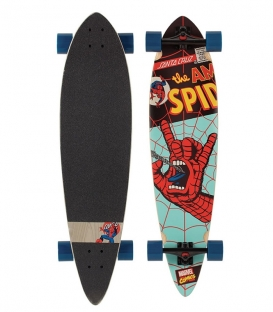 Skate Santa Cruz Marvel Spiderman Hand