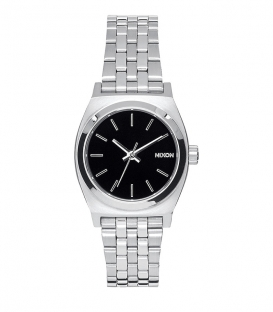 Nixon Small Time Teller Black