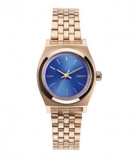 Nixon Small Teller Rose Gold / Cobalt