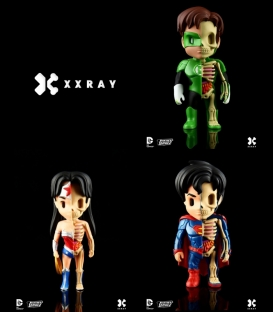 XXRAY Dc Comics Pack 2