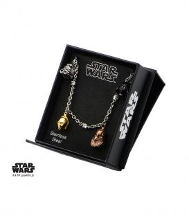 Star Wars Steel Bracelet. 3d characters.