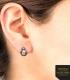 Boucles d'oreilles 3D Inox BB-8