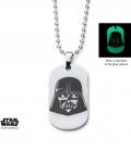 Plaque Star Wars Dark Vador Phosphorescente