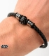 Star Wars Steel Bracelet. Dark Vador 3D.
