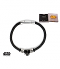 Star Wars Steel Bracelet. Dark Vador 3D.