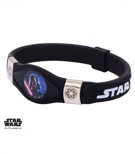 Bracelet Star Wars silicone Dark Vador
