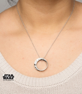 "Pendentif Star Wars ""I Love You, I Know"""