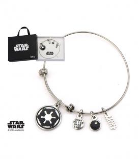 Bracelet Star Wars Inox Impérial