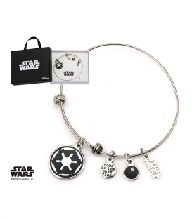 Star Wars Stainless Bracelet Empire Symbol