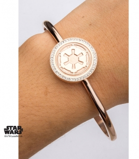 Star Wars Gold Bracelet Empire Symbol