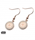 Star Wars Pink Gold Empire Earrings.