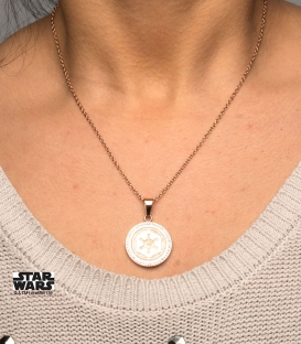 Pendentif Star Wars Or Rosé Empire