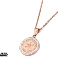 Star Wars Pink Gold Empire Pendant
