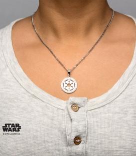 Pendentif Star Wars Inox et gemme Empire