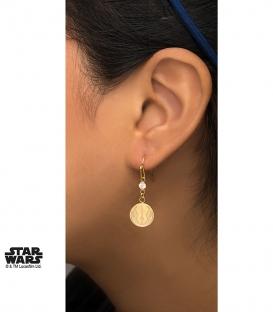 Boucles d'oreilles Star Wars Metal doré Rebelle
