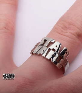Star Wars logo ring us size 6