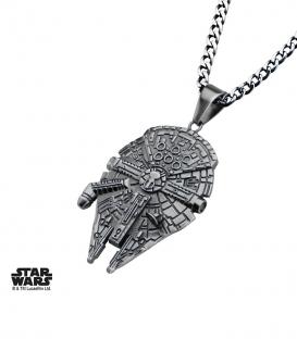 Pendentif Star Wars 3D Faucon Millenium