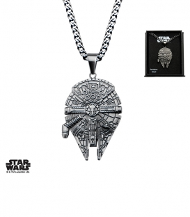 Star Wars 3D Millenium Falcon Pendant
