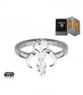 Bague Mandalorian Star Wars Inox Taille US 6