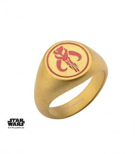 Chevalière Mandalorian Star Wars Inox Taille US 10