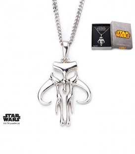 Star Wars Stainless Steel Mandalorian Pendant