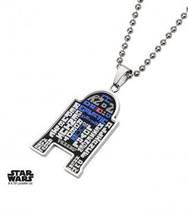 Pendentif Star Wars R2D2 TYPO