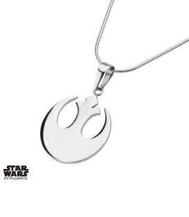 Pendentif Star Wars Inox symbole rebelle