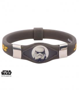 Phosphorescent Storm Trooper Silicone Bracelet