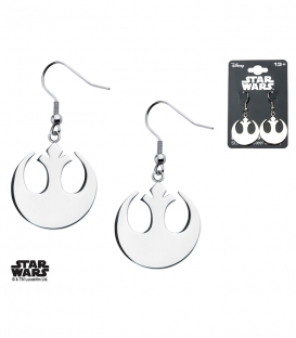 Boucles d'oreilles Star Wars symbole Rebelle