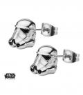 Boucles d'oreilles 3D Inox Storm Trooper