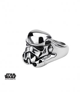 Bague Star Wars Storm Trooper 3D Inox Taille US 10