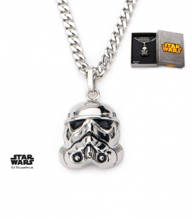Pendentif Star Wars Inox Storm Trooper 3D
