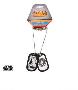 Star Wars Storm Trooper Military Pendant
