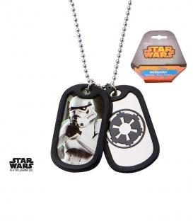 Pendentif Star Wars Inox Militaire Storm Trooper