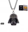 Black Star Wars Dark Vador 3D Pendant